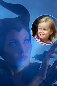 """Angelina Jolie als """"Maleficent"""", Vivienne Jolie-Pitt"""