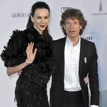L'Wren Scott + Mick Jagger