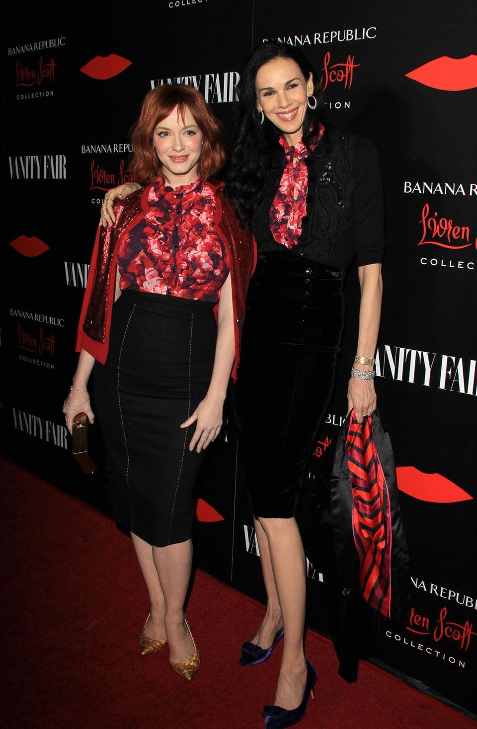 Wie viele andere Stars auch liebt Christina Hendricks die Mode von L'Wren Scott.