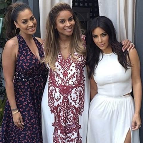 La La Anthony, Ciara + Kim Kardashian