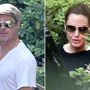 Brad Pitt und Angelina Jolie gönnten sich einen gemeinsamen Kurztip.