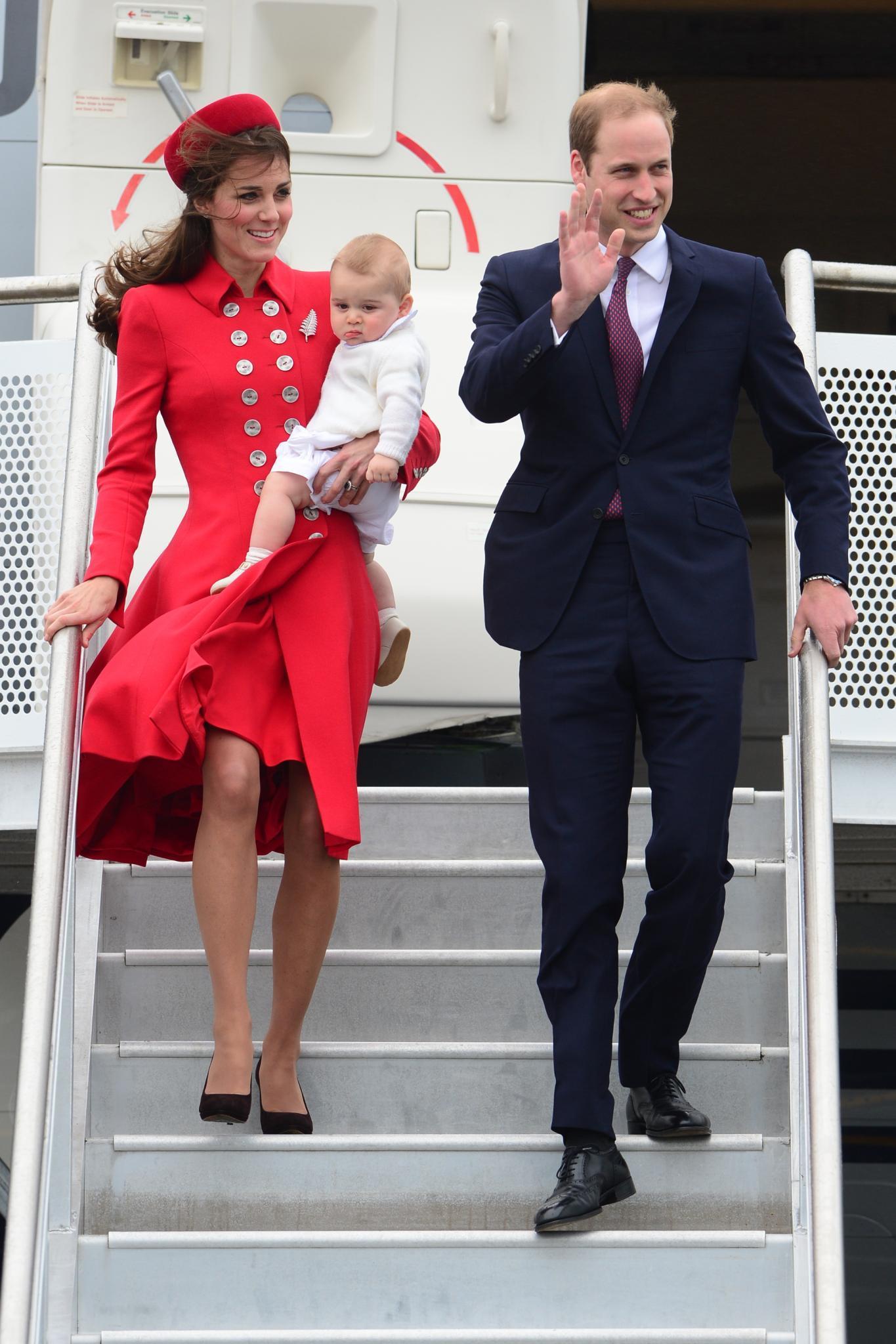 Herzogin Catherine, Prinz George, Prinz William