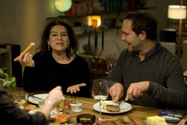 """Hannelore Elsner und """"Bosse"""" sind Sarah Kuttners Gäste in der ersten Folge von """"Kuttner plus Zwei""""."""