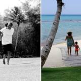 Traumhafte Urlaubsbilder: Jay-Z und Beyoncé haben eine gute Zeit mit Töchterchen Blue Ivy.
