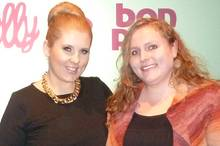 Gala.de-Mitarbeiterin Isabelle Jahn traf Maite Kelly bei ihrer Fashionshow in der Hamburger Handelskammer für ein Interview.