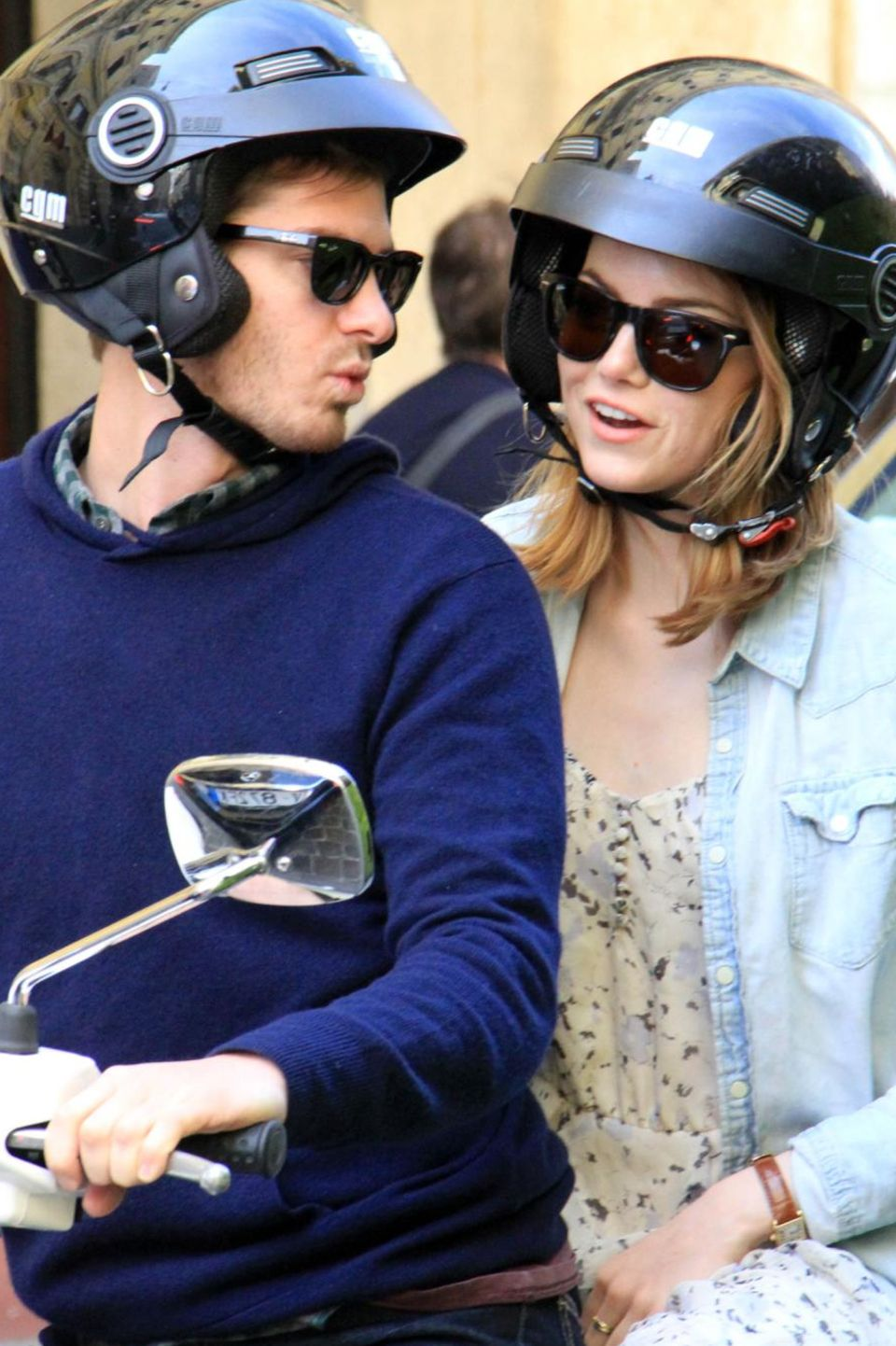 Andrew Garfield, Emma Stone