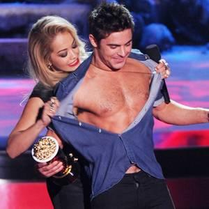 Rita Ora + Zac Efron