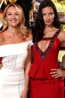Candice Swanepoel + Adriana Lima