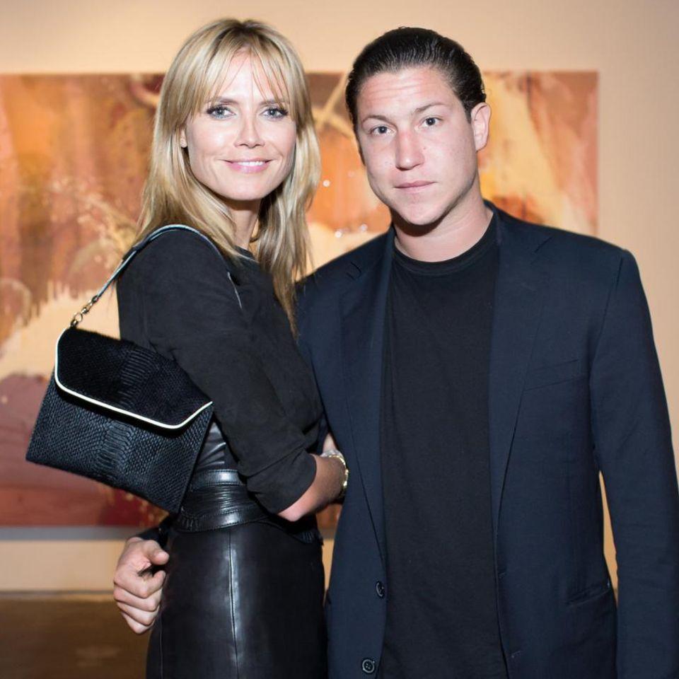 """Heidi Klum und Vito Schnabel bei der """"Dallas Art Fair"""""""
