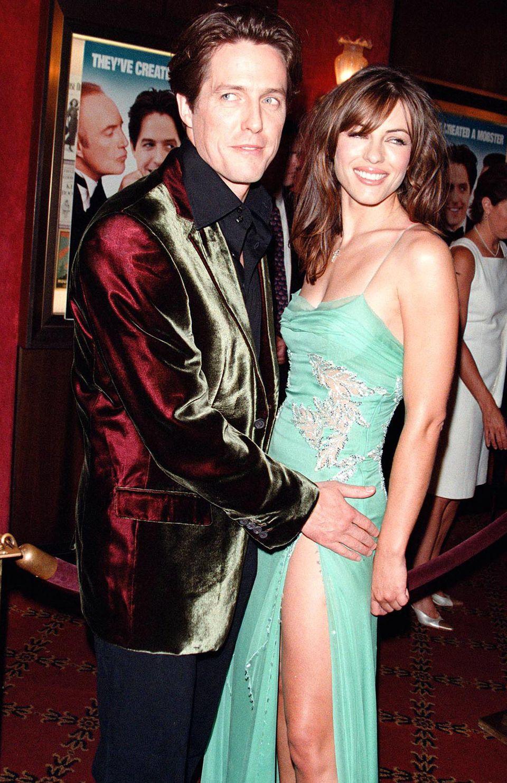 Schillernd und sexy: Hugh Grant und Liz Hurley 1999
