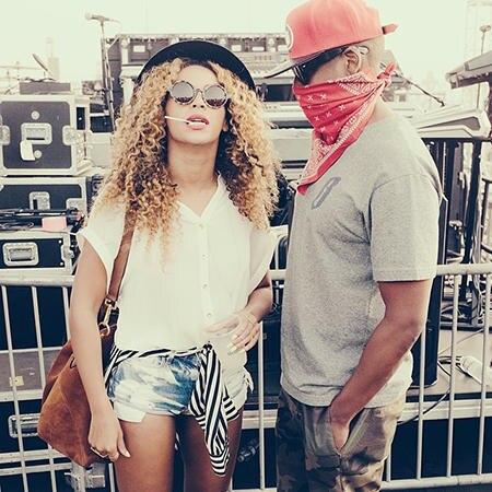 Beyoncé Knowles + Jay Z
