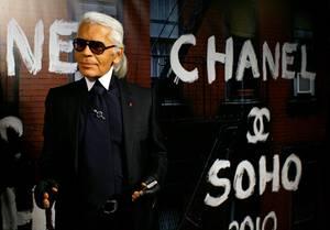 Seit 1983 arbeitet Lagerfeld für das Modehaus Chanel. Ein Vertrag auf Lebenszeit.