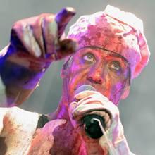 """Till Lindemann bei eienm Auftritt von """"Rammstein"""""""