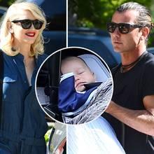 Gwen Stefani, Gavin Rossdale und ihr Sohn Apollo