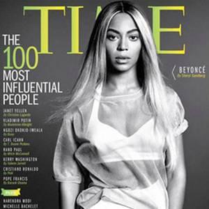 """Beyoncé auf dem Cover des Magazins """"Time""""."""