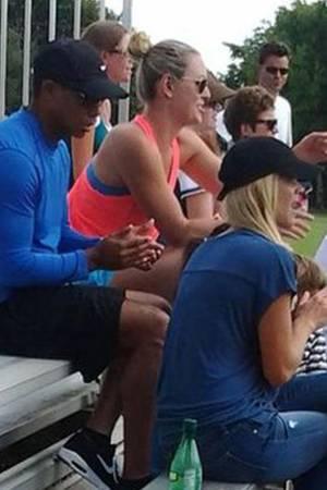 Tiger Woods, Lindsey Vonn und Elin Nordegren