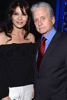 Catherine Zeta-Jones + Michael Douglas