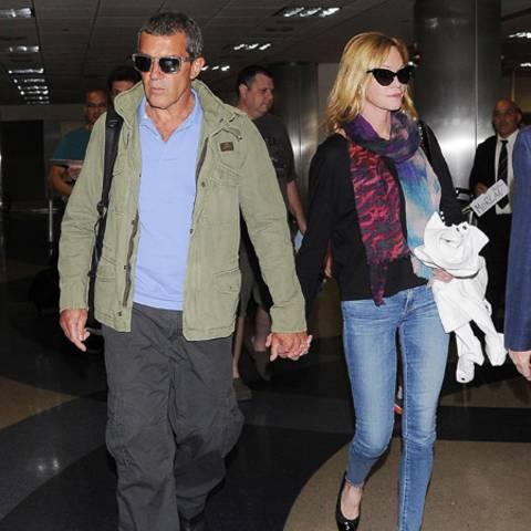 Antonio Banderas + Melanie Griffith