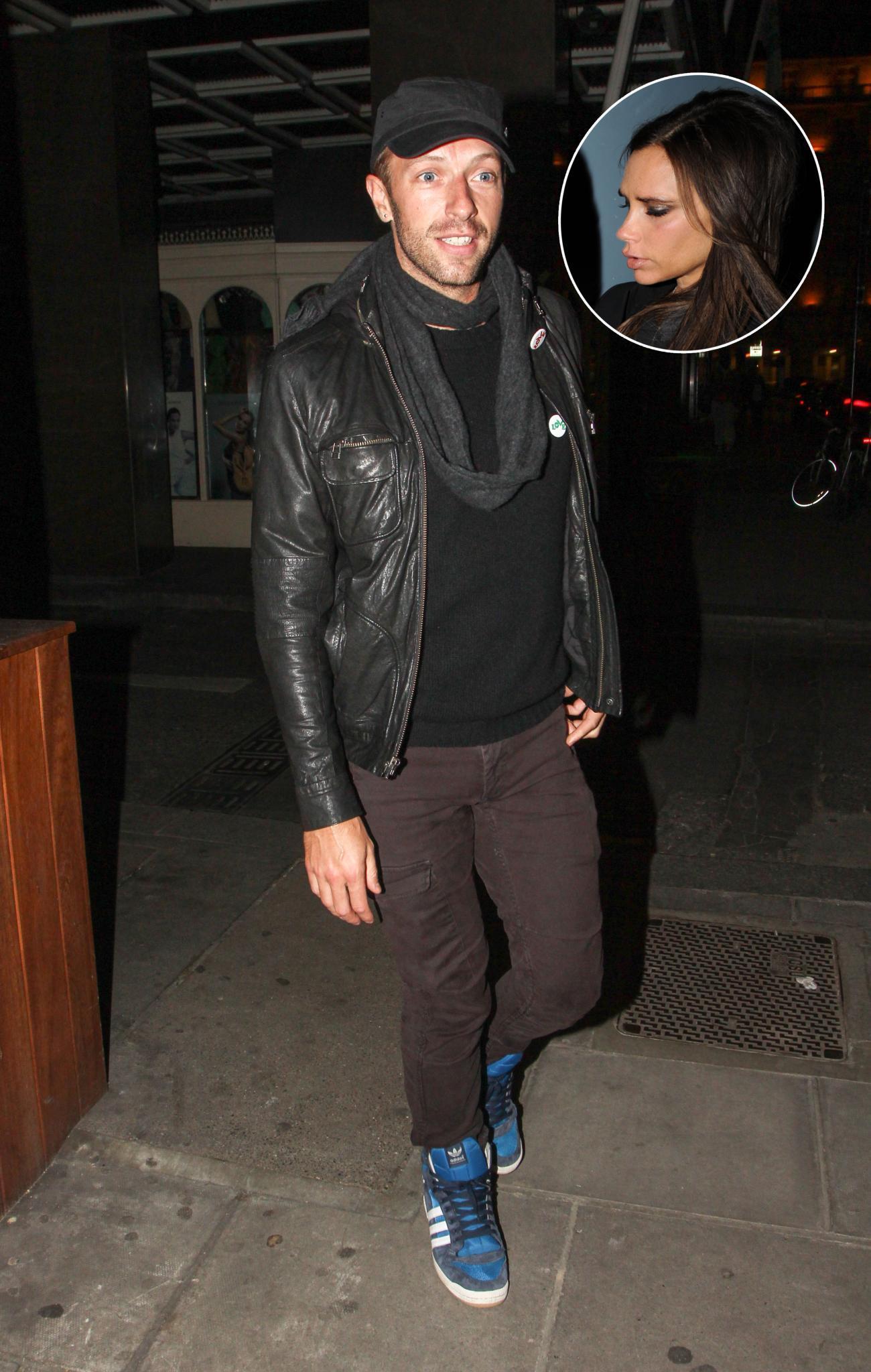 Chris Martin, Victoria Beckham