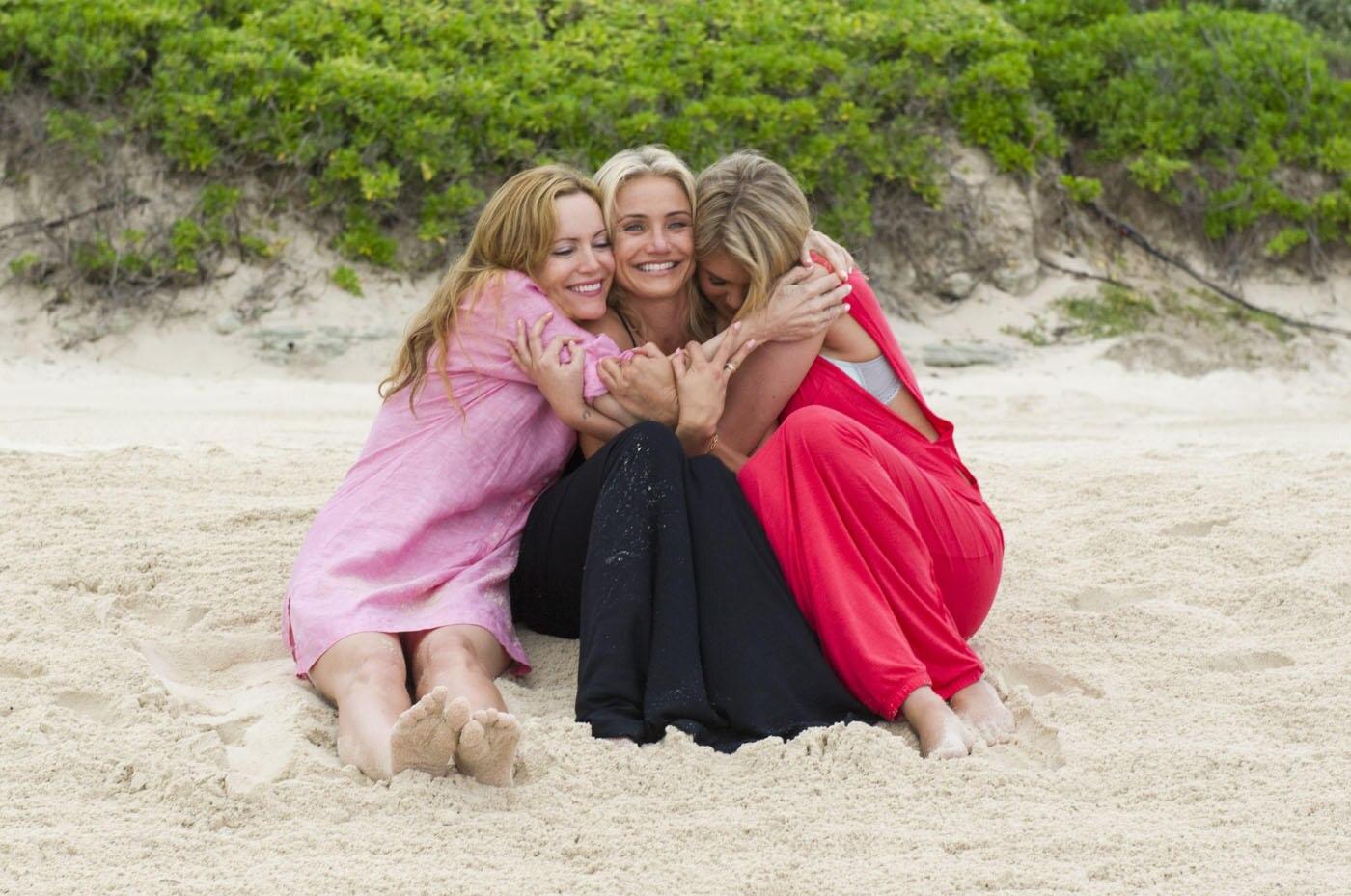 """""""Kate"""" (Leslie Mann), """"Carly"""" (Cameron Diaz) und """"Amber"""" (Kate Upton) sind Freundinnen geworden."""