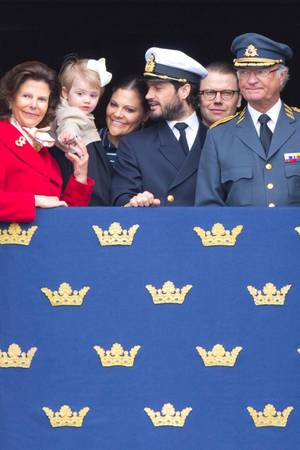 Königin Silvia, Prinzessin Estelle, Prinzessin Victoria, Prinz Car Philip, Prinz Daniel, König Carl Gustaf