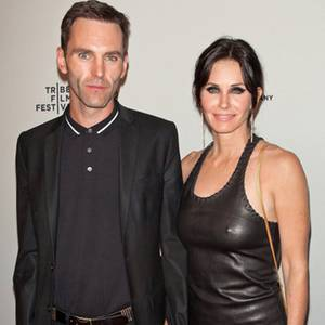 Johnny McDaid + Courteney Cox