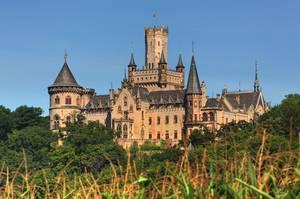 Die Marienburg bei Hildesheim ist der Sitz von Ernst August von Hannover.