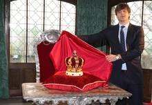 Herzstück der Ausstellung: die Krone von Hannovers letzten Königen.