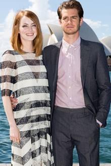 Emma Stone + Andrew Garfield