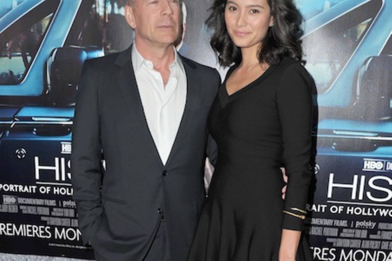Bruce Willis + Emma Heming