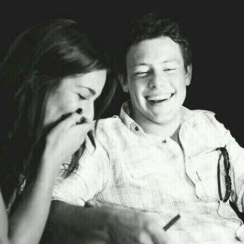 Lea Michele + Cory Monteith