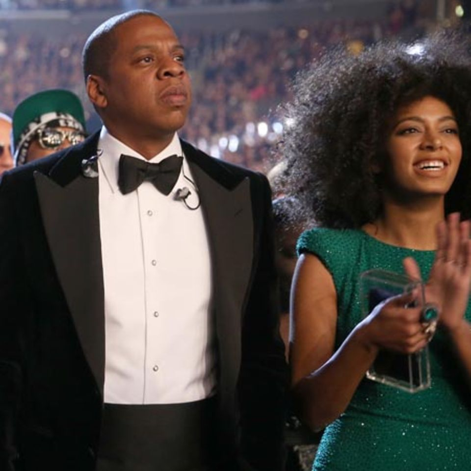 Jay-Z + Solange Knowles