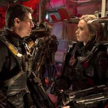 Tom Cruise + Emily Blunt