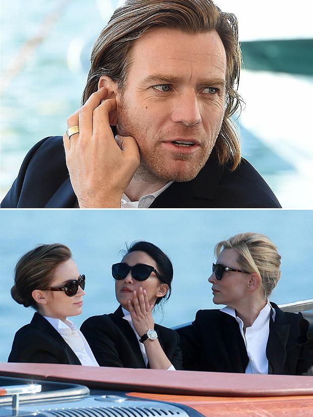 Für das IWC-Shooting posierten die Hollywood-Größen in Cannes