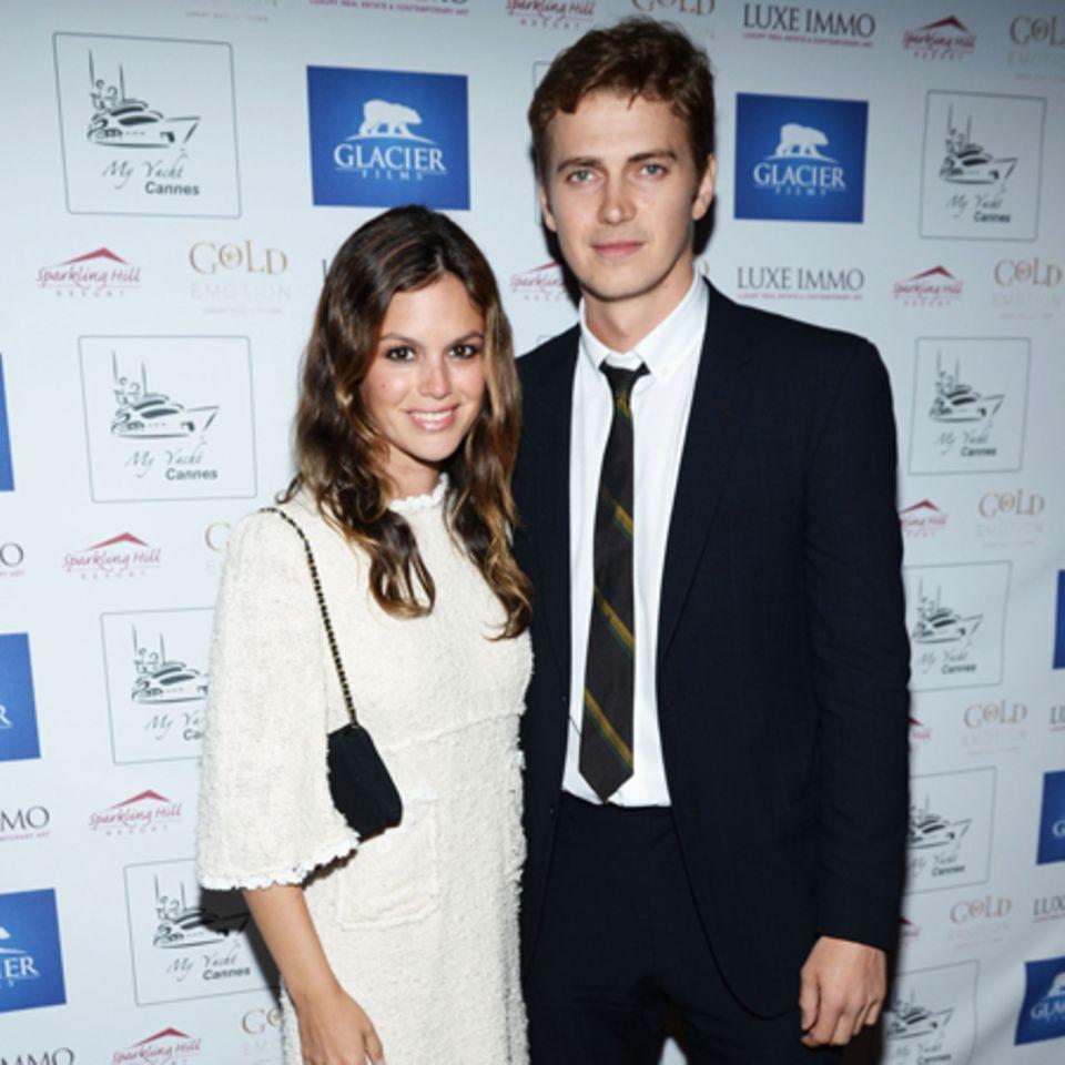 Rachel Bilson + Hayden Christensen