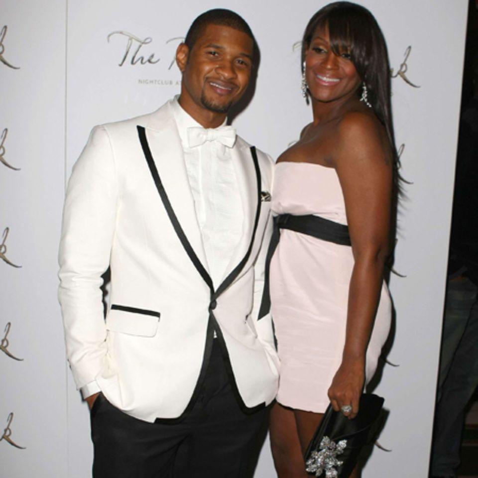 Usher + Tameka Foster