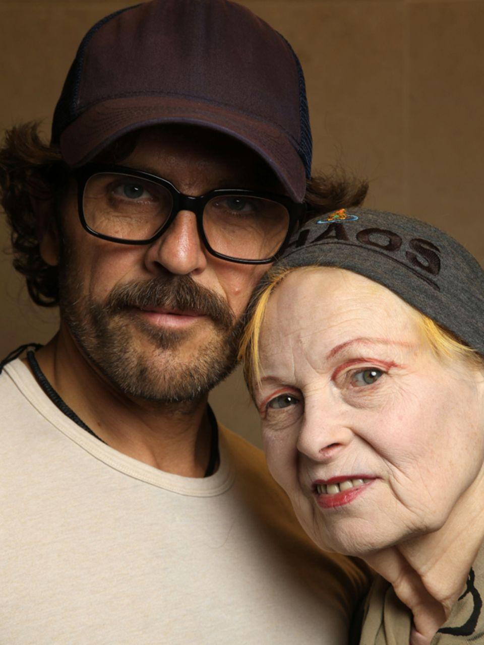 Traumpaar des Modebetriebs: Andreas Kronthaler, 48, und Vivienne Westwood, 73