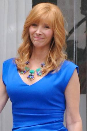 "Lisa Kudrow am Set von ""The Comeback"""