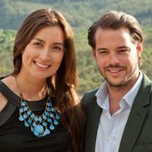 Claire Lademacher und Félix von Luxemburg