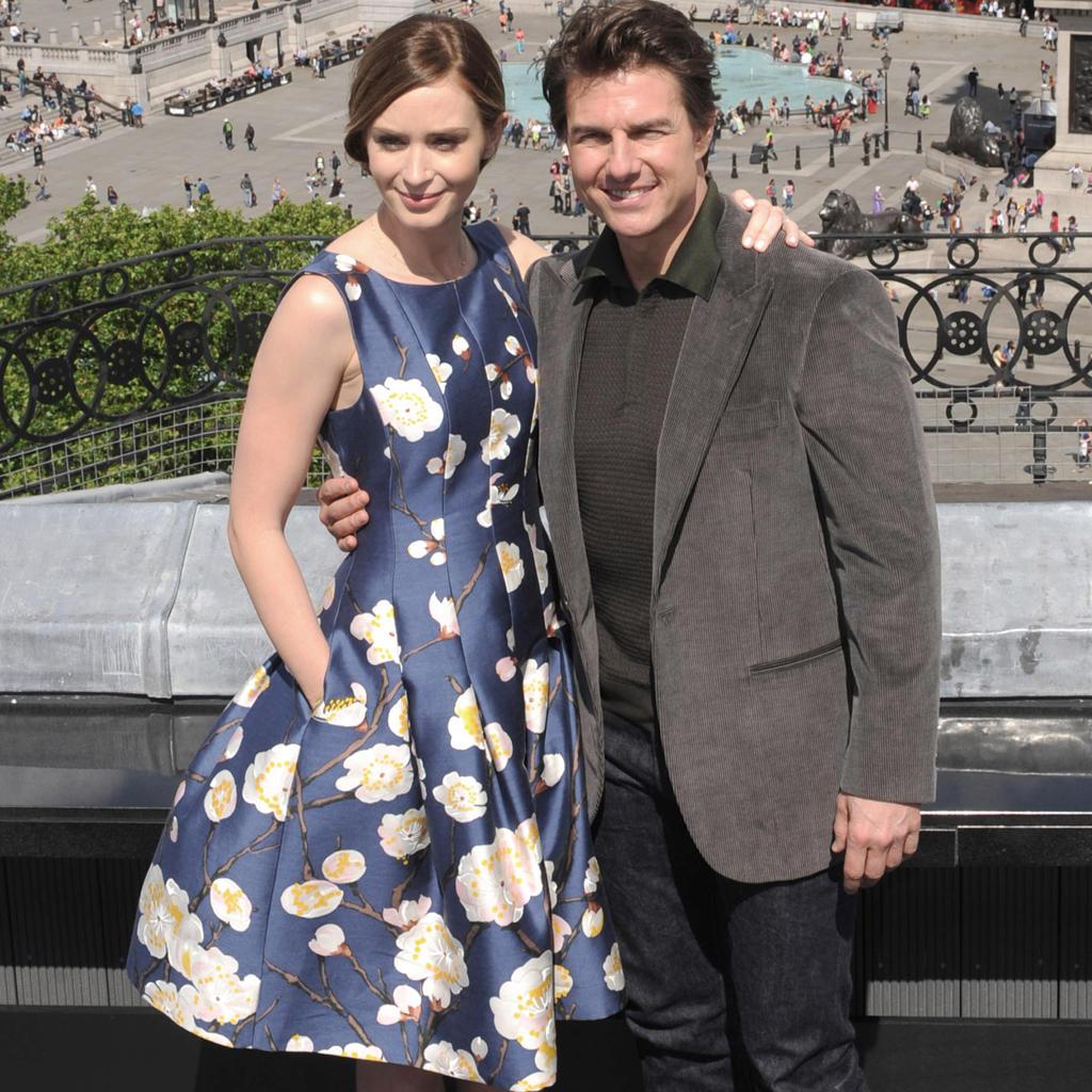 Emily Blunt + Tom Cruise