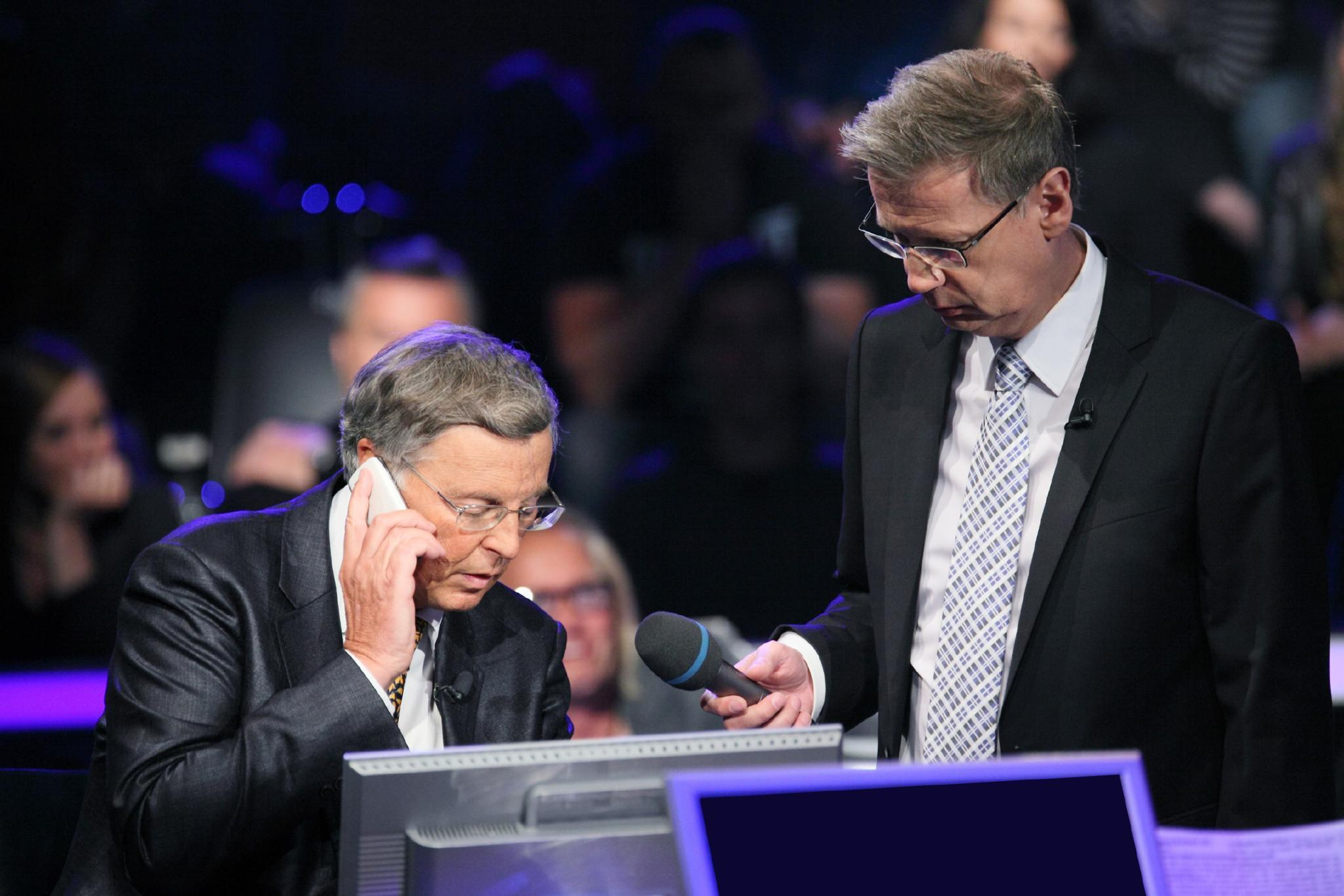 Wolfgang Bosbach, Günther Jauch