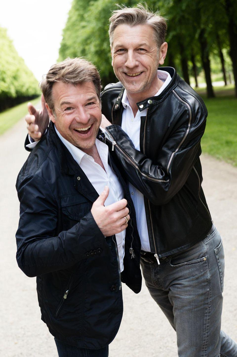 Patrick Lindner, Peter Schäfer
