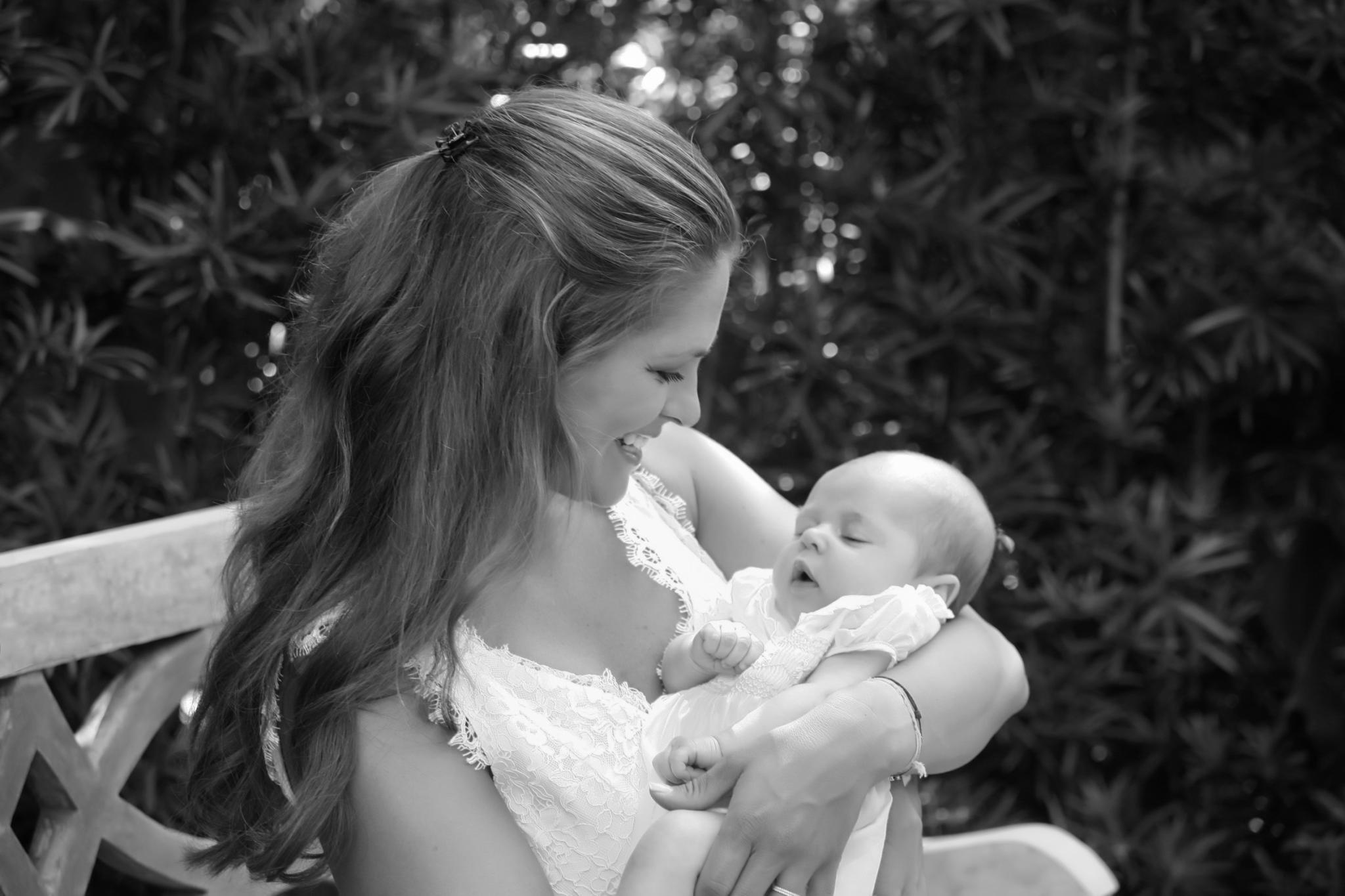 Prinzessin Madeleine mit ihrer Tochter, Prinzessin Leonore von Schweden.