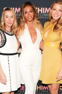 Frida Giannini, Beyoncé Knowles + Blake Lively