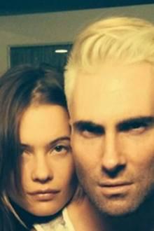 Adam Levine + Behati Prinsloo