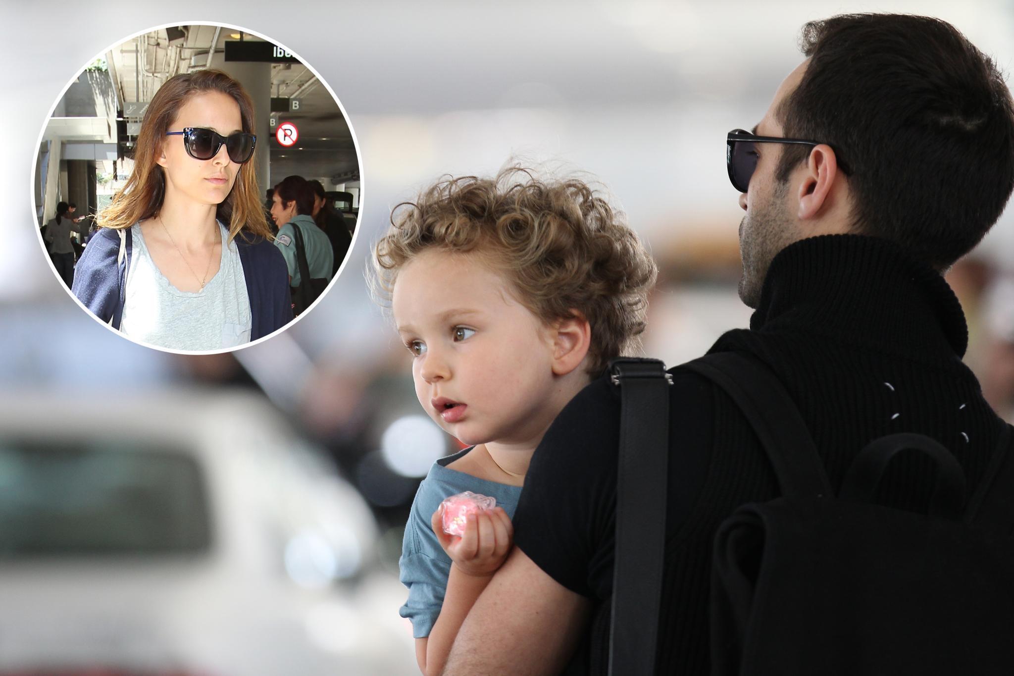 Natalie Portman, Benjamin Millepied und Sohn Aleph