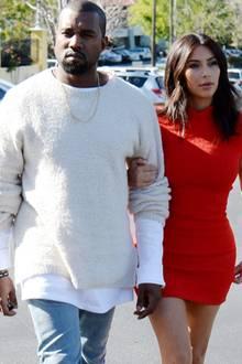 Kanye West + Kim Kardashian