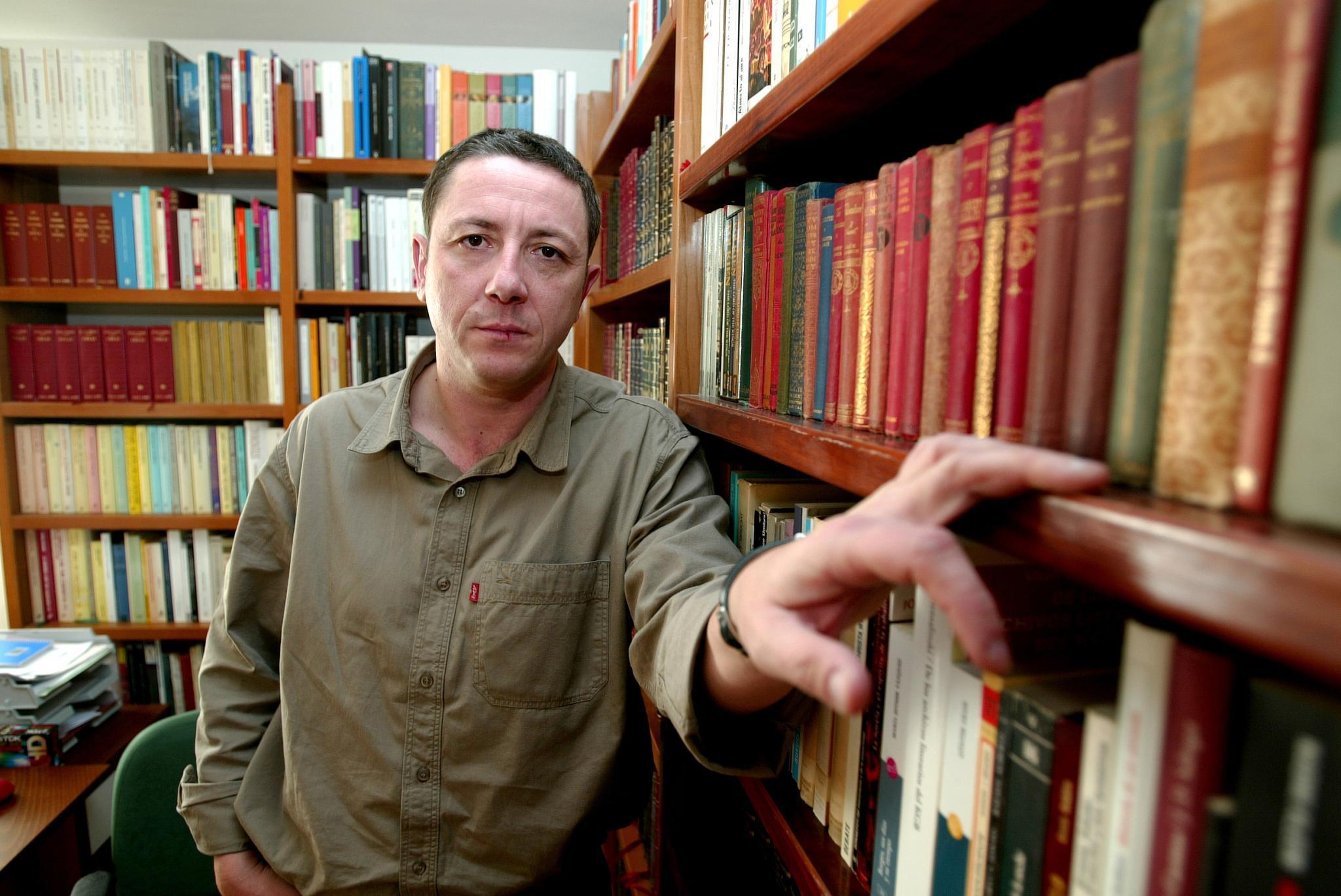 Letizias erster Mann, der Literaturprofessor Alonso Guerrero.