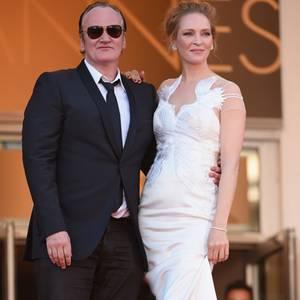 Quentin Tarantino + Uma Thurman