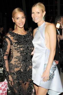 Beyoncé Knowles + Gwyneth Paltrow